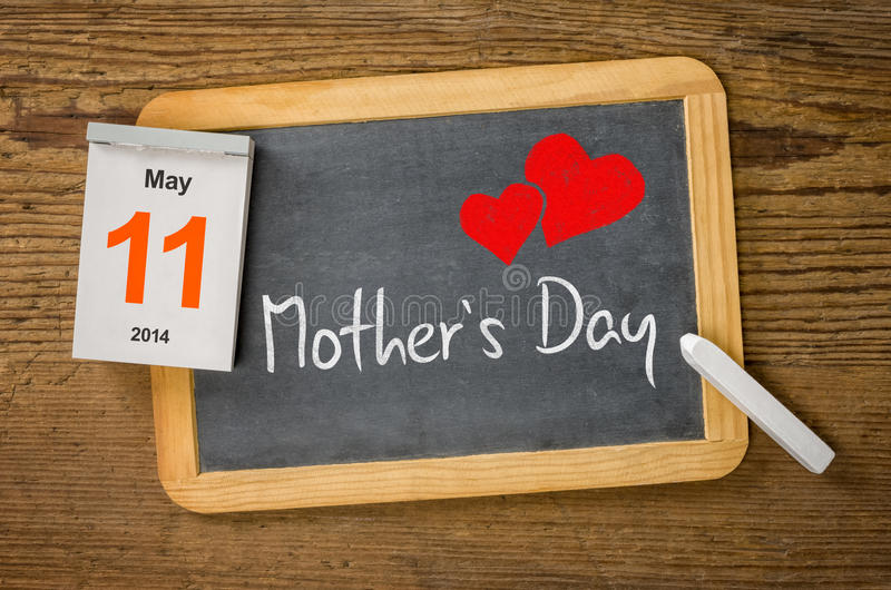 Mutter-Tag 2014 lizenzfreie stockfotos