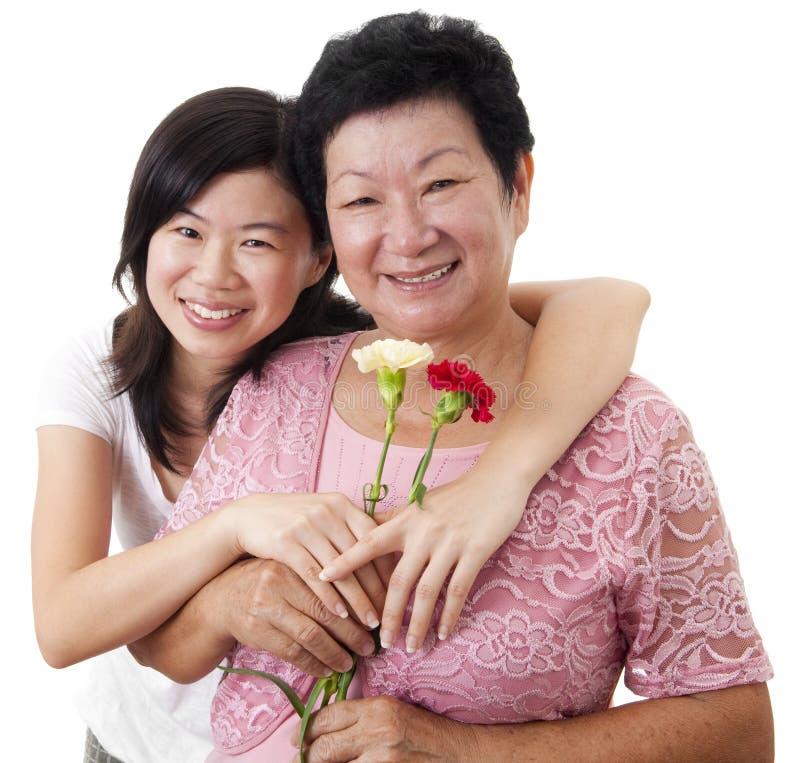 Mutter u. Tochter lizenzfreies stockbild