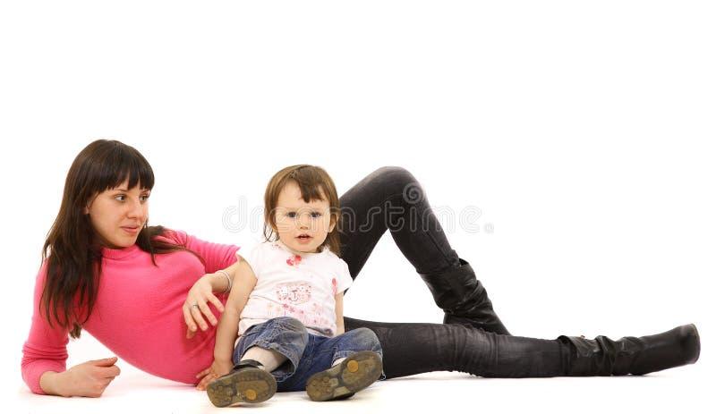 Mutter und das Kind lizenzfreies stockbild