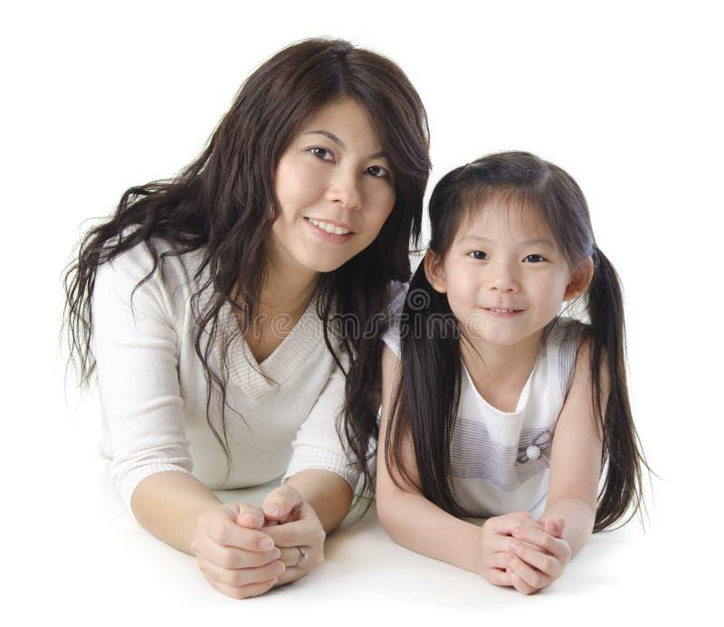 Mutter und ich lizenzfreies stockbild
