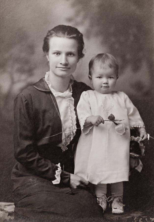 Mutter und Kind stockbild