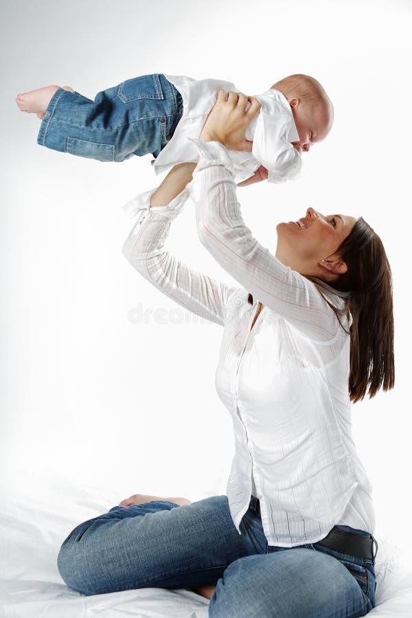 Mutter und Kind. lizenzfreie stockfotos