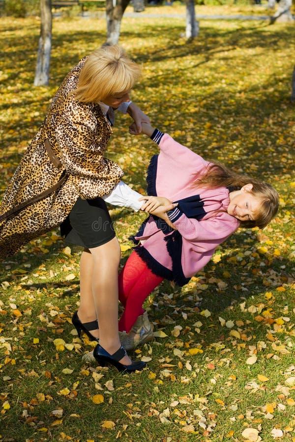 Mutter und Tochter. lizenzfreie stockfotografie