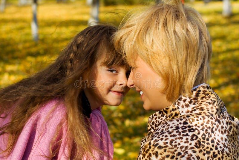 Mutter und Tochter. lizenzfreie stockfotos