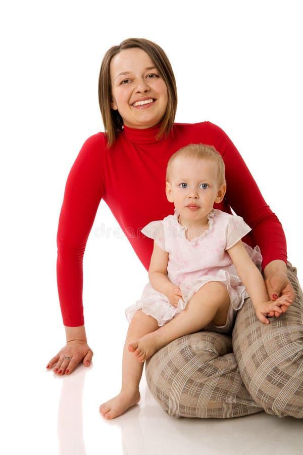 Mutter und Tochter stockbild
