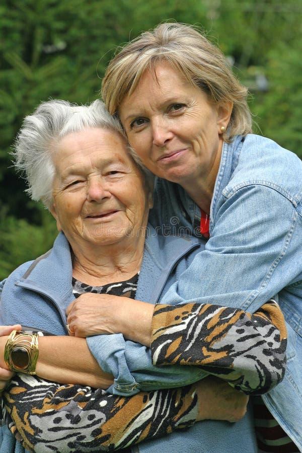 Mutter und Tochter [5] stockfotografie