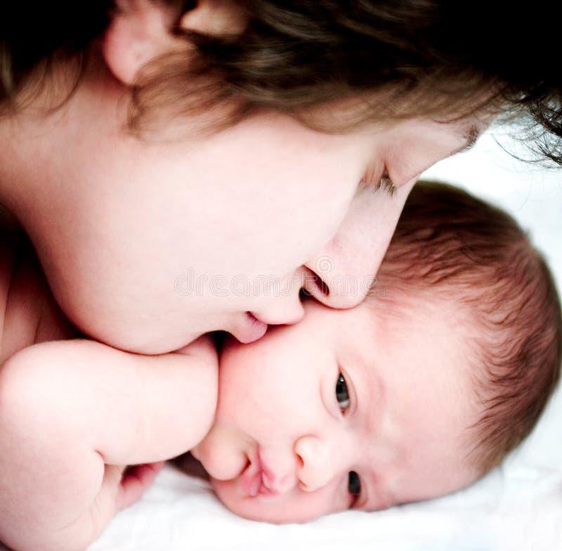 Mutter und Tochter stockfoto