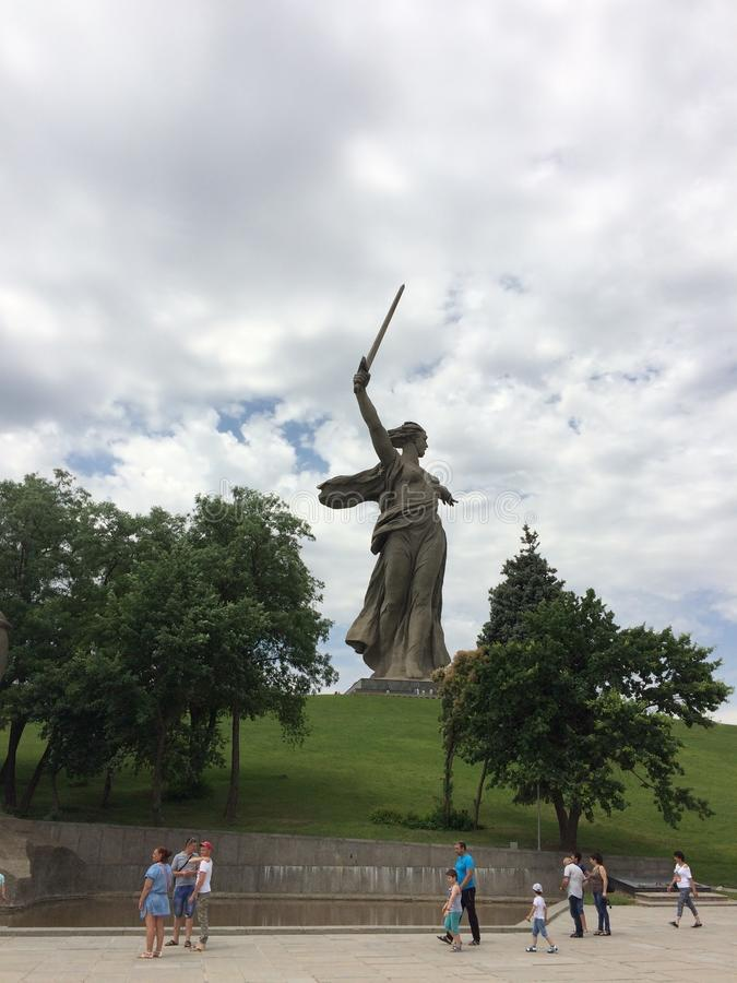 Mutterland in Russland stockfoto