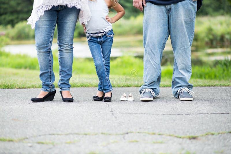 Mutterschaftsbild der Familie lizenzfreie stockbilder