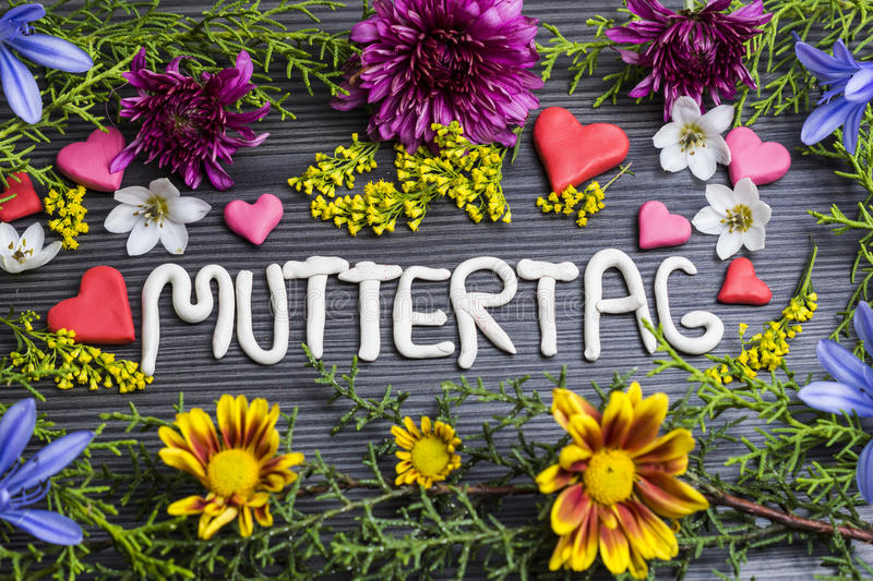 Muttertag royalty free stock photos