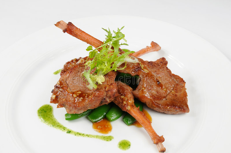Download Mutton chop stock image. Image of chop, lunch, mutton - 8439107