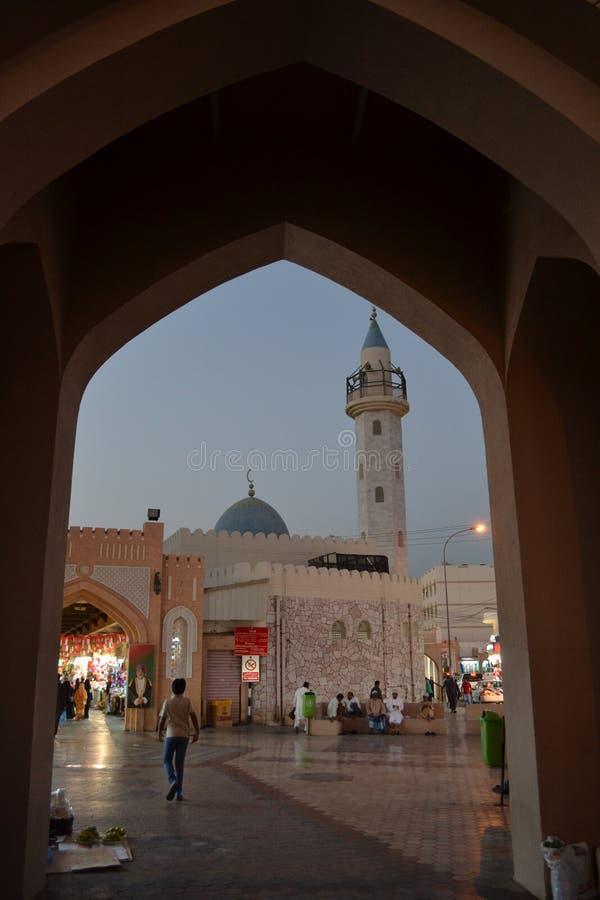 Muttrah Souq royaltyfria bilder