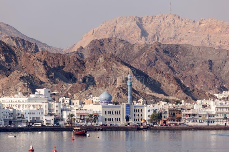 Muttrah, Sultanaat van Oman stock afbeeldingen