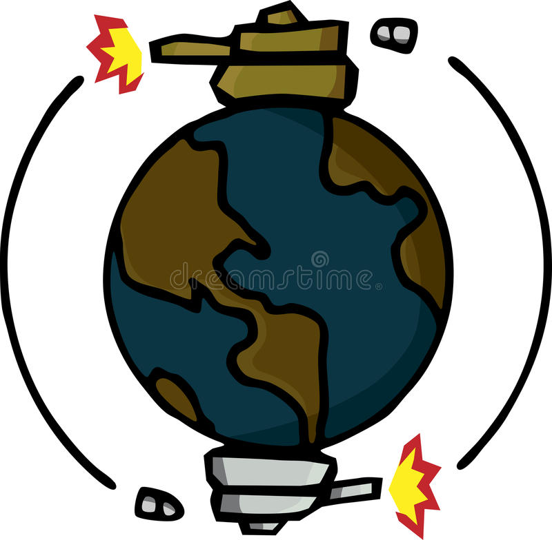 Download Mutually Assured Destruction Stock Vector - Image: 19369126