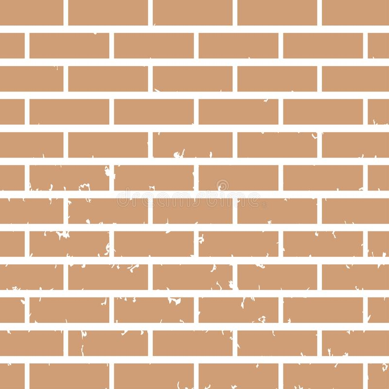 Muur achtergrond grafisch ontwerpmalplaatje royalty-vrije illustratie