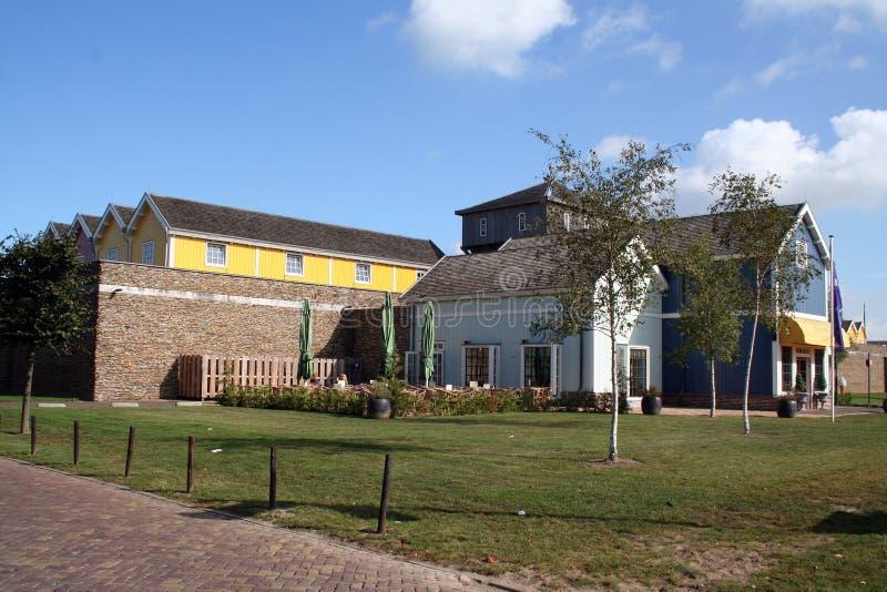 Muur arround het Afzet Winkelende Centrum Bataviastad royalty-vrije stock foto's