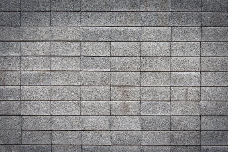 Muur die van bakstenen wordt gemaakt stock fotografie