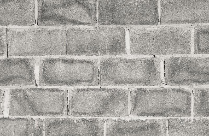 Muur en baksteenblokken stock fotografie
