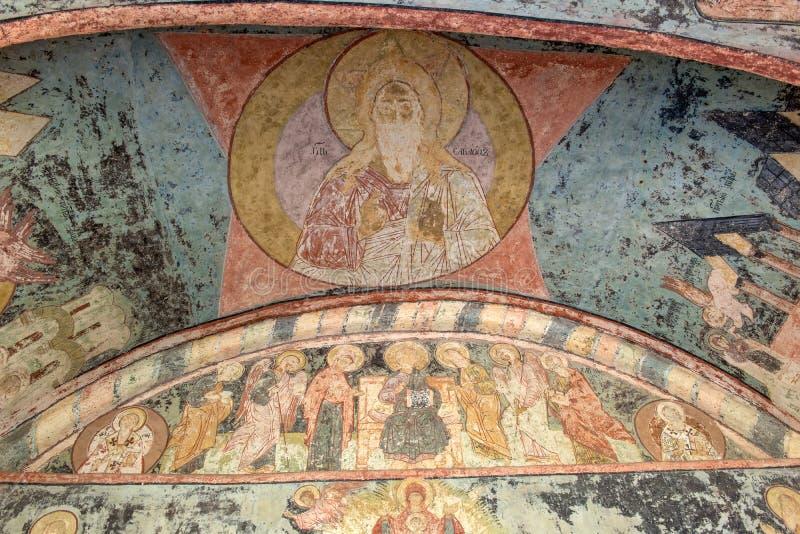 Muur en plafondschilderijen vector illustratie