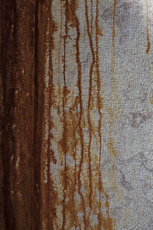 Muur met roest als achtergrond te gebruiken stock foto's