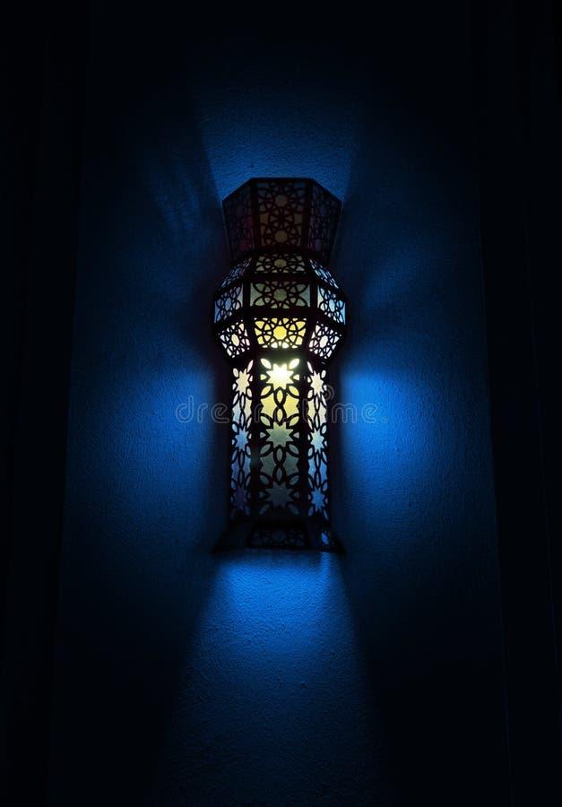 Muur opgezette lamp stock foto's