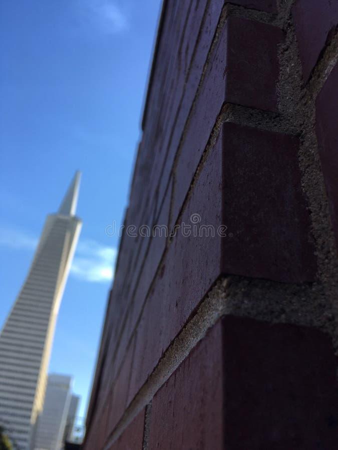 Muur in San Francisco royalty-vrije stock afbeeldingen
