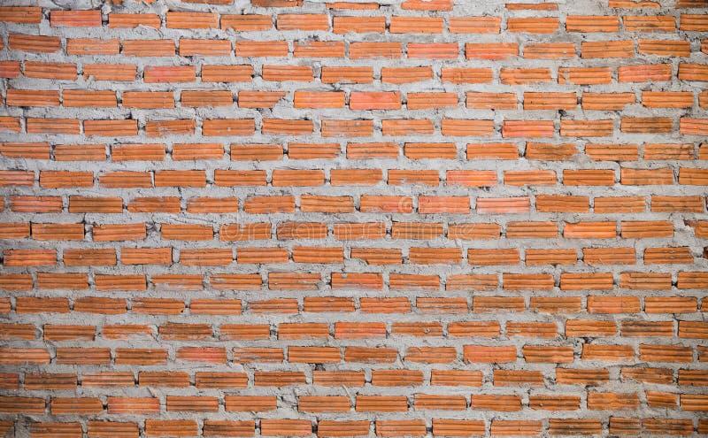 Muur van Baksteen wordt gemaakt die stock fotografie