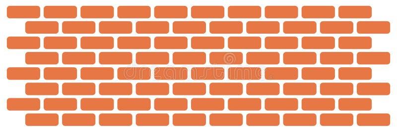 Muur van bakstenen vector illustratie