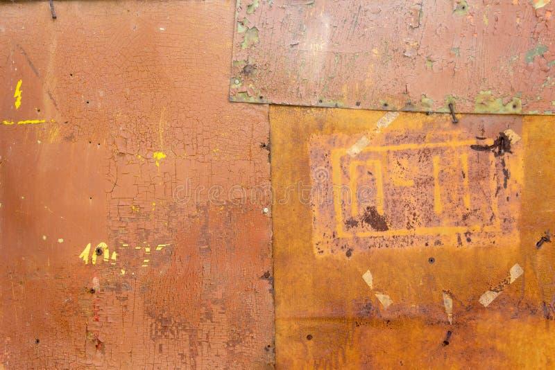 Muur van beton en baksteen met pleistertextuur royalty-vrije stock afbeeldingen