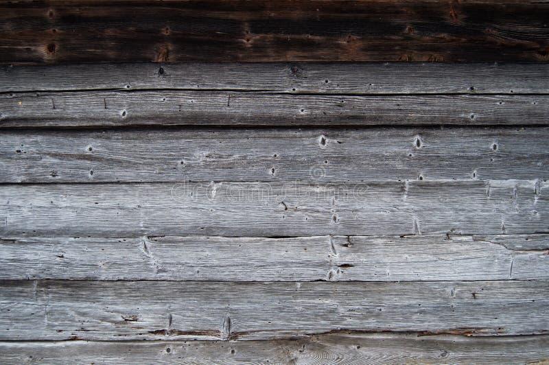 Muur van de oude houten raad royalty-vrije stock foto's