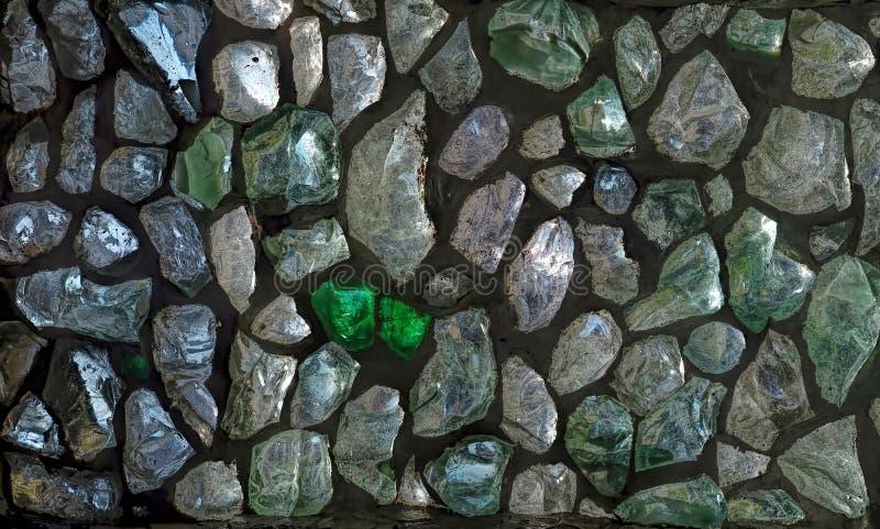 Muur van glas royalty-vrije stock afbeelding
