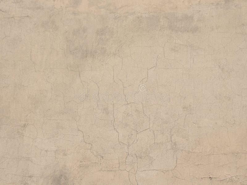 Muur van het Grunge de concrete cement met barst, groot voor uw ontwerp en textuurachtergrond royalty-vrije stock afbeeldingen