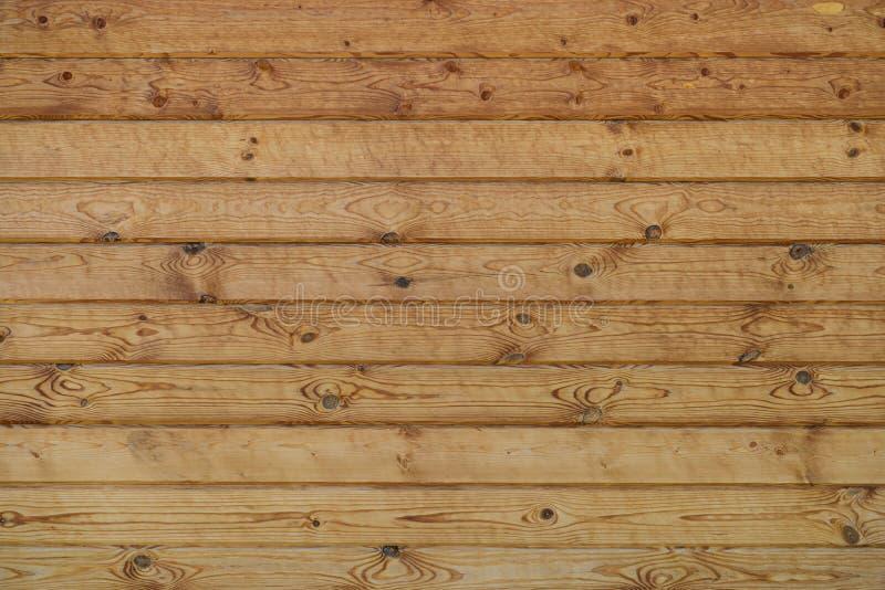 Muur van houten geplande logboeken royalty-vrije stock afbeelding