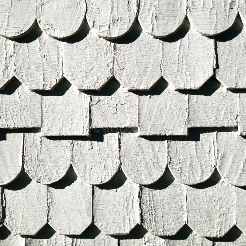 Muur van houten patroon royalty-vrije stock afbeelding