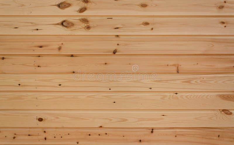 Muur van houten planken stock foto's