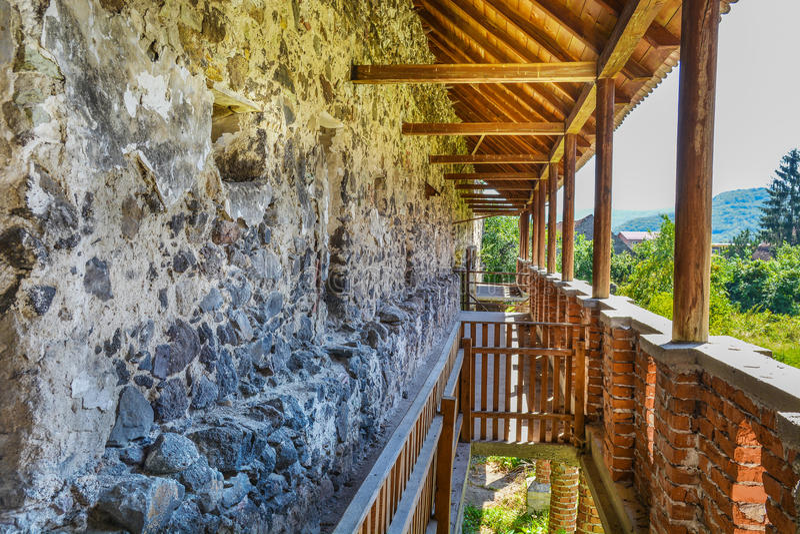 Muur van Racos-citadel stock foto's