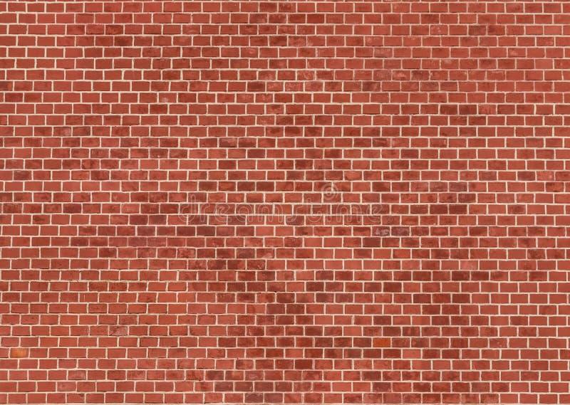 Muur van rode baksteenachtergrond, de muur van het Kremlin royalty-vrije stock foto