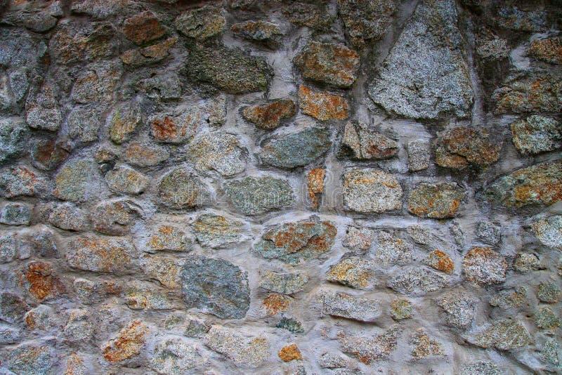 Muur van Steen stock afbeeldingen