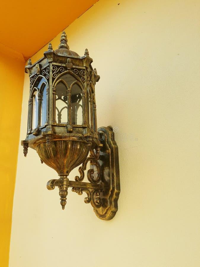 Muurlamp stock afbeelding