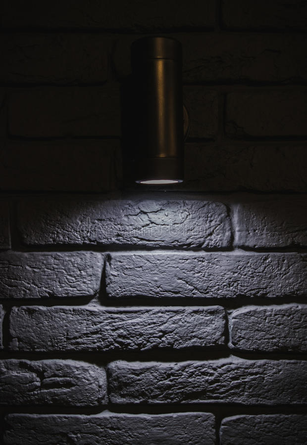 Muurlamp royalty-vrije stock fotografie