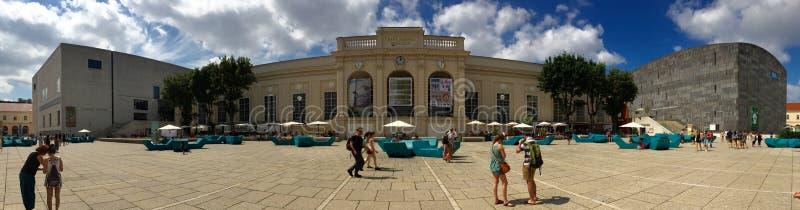 Muzea ćwiartują Wiedeń zdjęcie stock