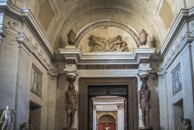 Muzea Watykańscy fotografia royalty free