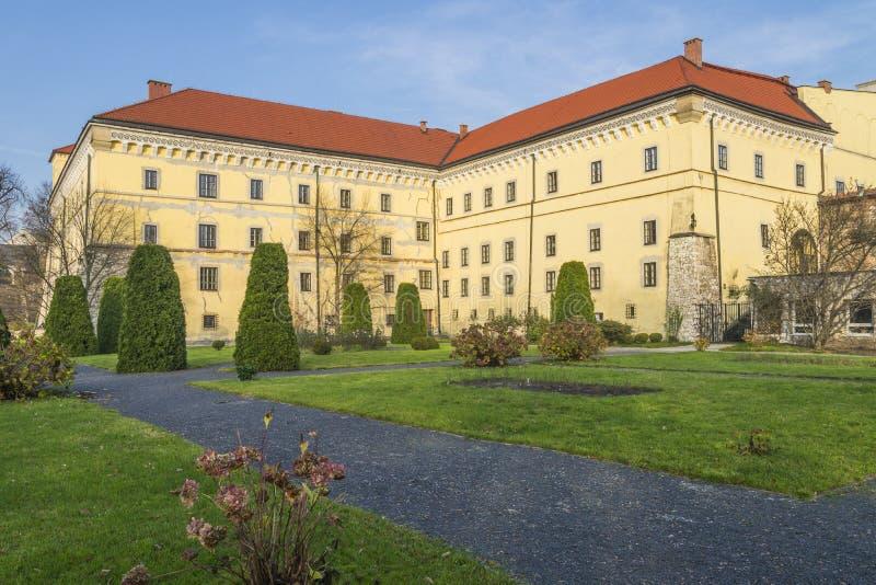 Muzealny budynek obrazy royalty free