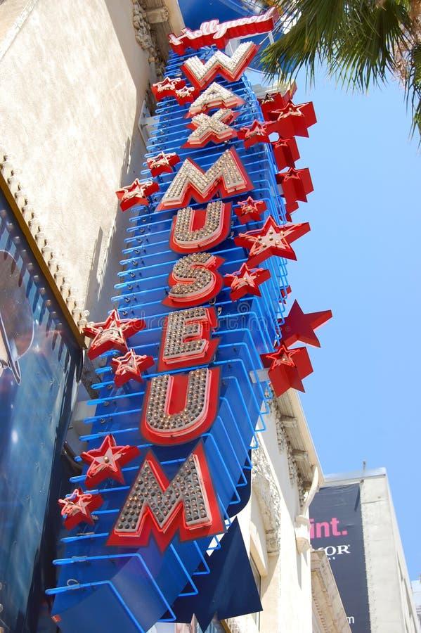muzealny Hollywood wosk zdjęcie stock
