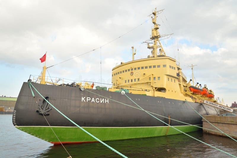 Muzealny Icebreaker Krasin zdjęcie royalty free