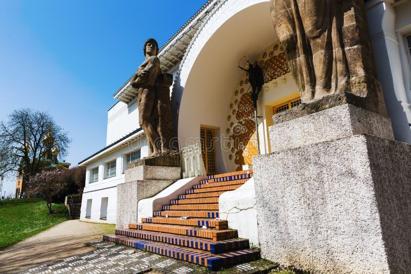 Muzealny Kuenstlerkolonie w Darmstadt, Niemcy fotografia stock