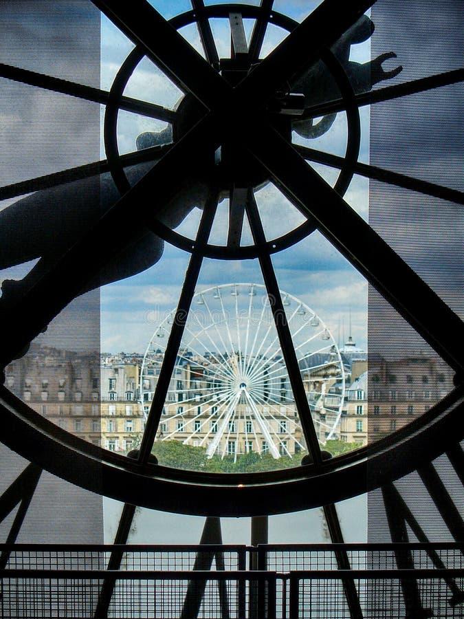 muzealny orsay Paris zdjęcia royalty free