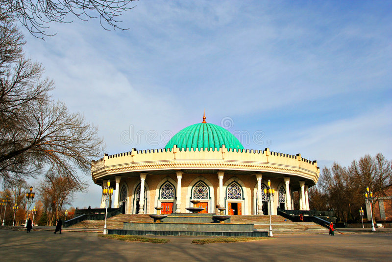 muzealny Tashkent Uzbekistan obrazy royalty free