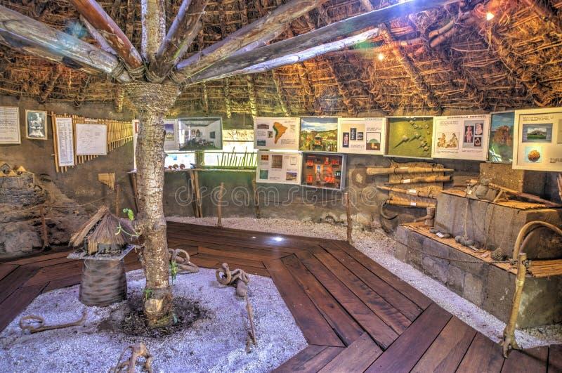 Muzealny wnętrze miejscowe kultury zdjęcia stock