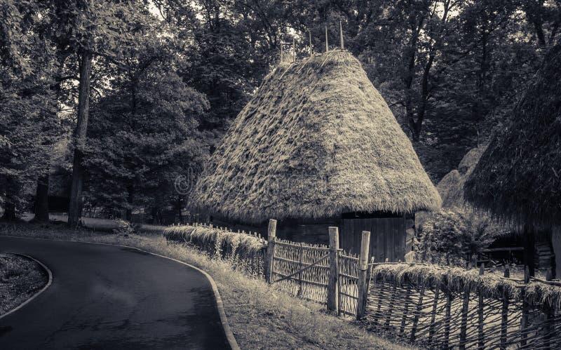 Muzeul Satului Sibiu - życie przy muzeum fotografia royalty free